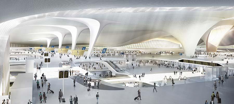 Dünyanın En Büyük Havaalanları - Pekin - İç Görünüm