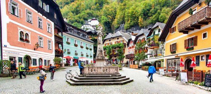 Avusturya'nın Masalsı Şehri Hallstatt - Market