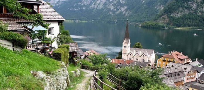 Avusturya'nın Masalsı Şehri Hallstatt - Mevsim
