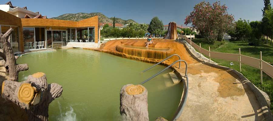 Pamukkale'nin En İyi Termal Otelleri - Lycus River Thermal Havuz