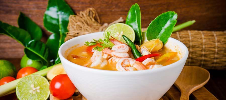 Phuket Adası Balayı - Yemek