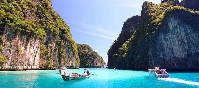 Phuket Adası Balayı - Maya Bay