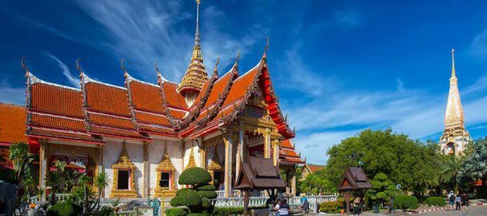 Phuket Adası Balayı - Wat Chalong Tapınağı