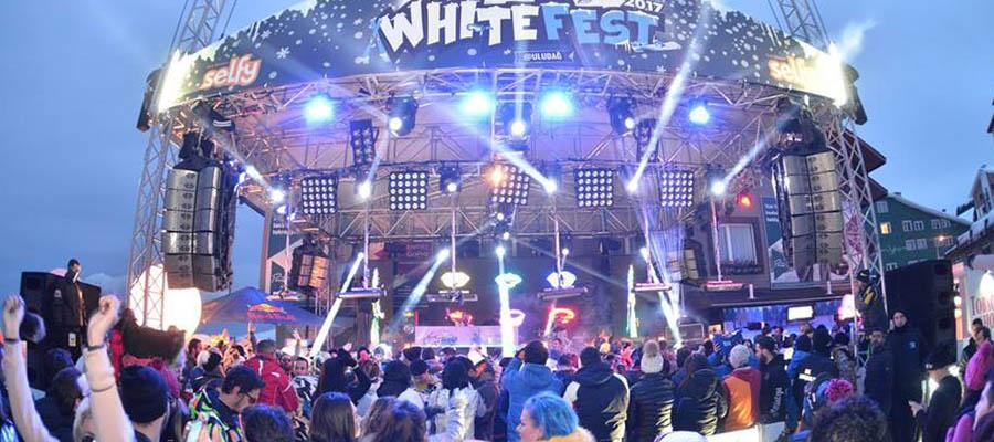 Uludağ Festivalleri - White Fest - Sahne