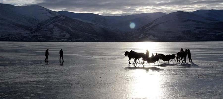 Çıldır Gölü - Kızak