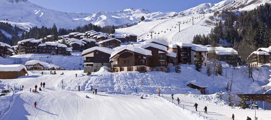 Fransa'nın En İyi Kayak Merkezleri - Valmorel - Pistler