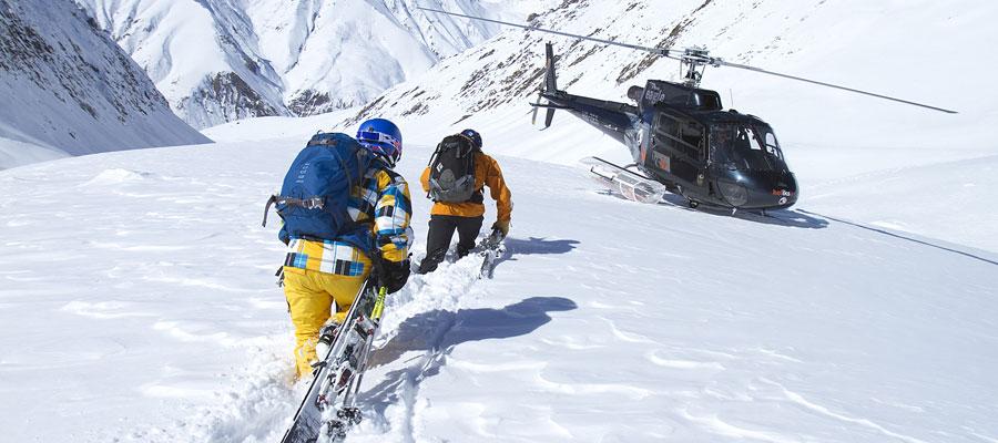 Gudauri Kayak Merkezi - Helikopter