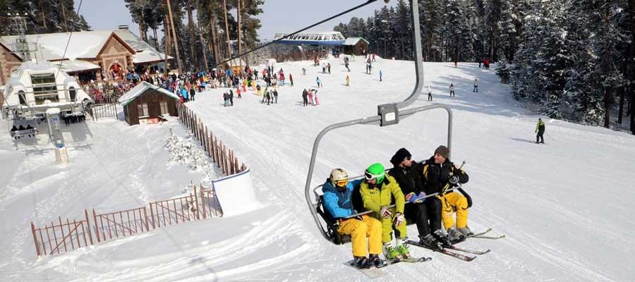 Kayak Balayı Otelleri - Kayi Snow Hotel - Pist