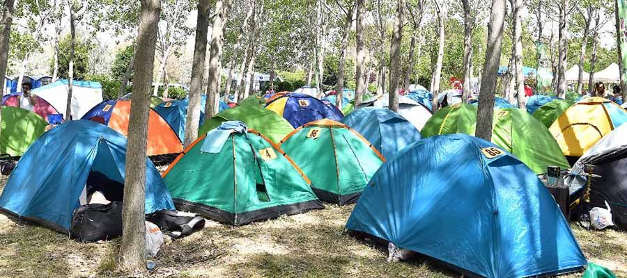 Kuşadası Gençlik Festivali - Kamp Alanı