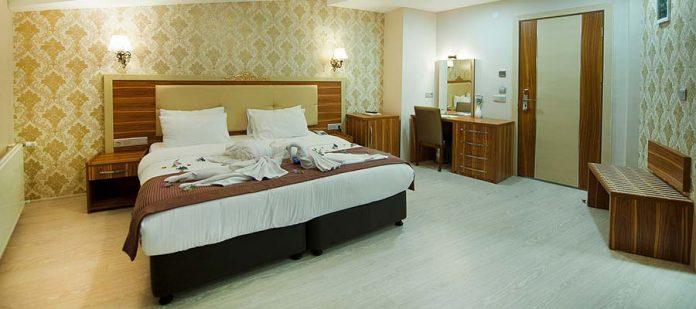 White Tuana Termal Hotel - Teras Oda