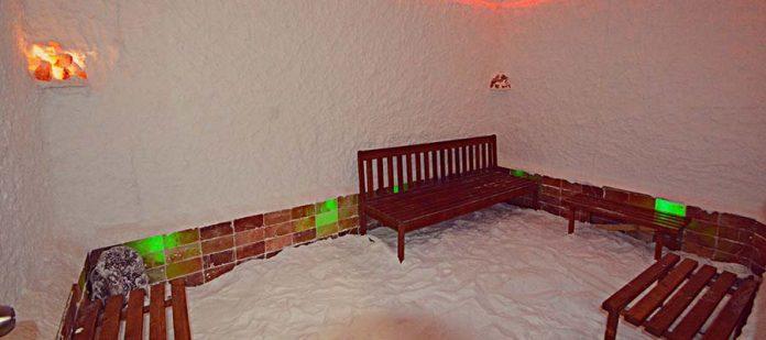 White Tuana Termal Hotel - Tuz Odası