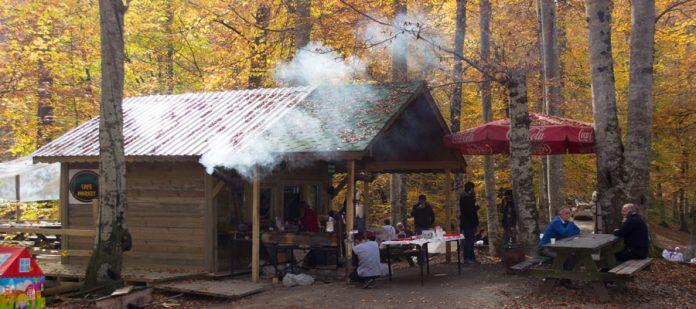Kış Mevsiminde Yedigöller - Restaurant