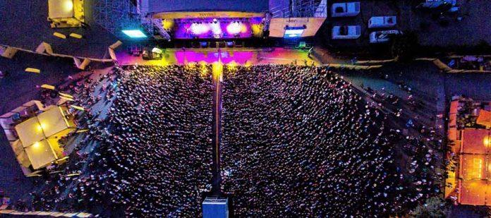Zeytinli Rock Festivali - Kuş Bakışı
