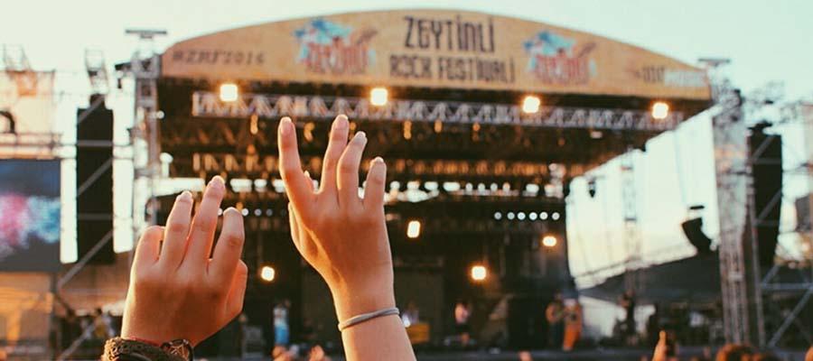 Zeytinli Rock Festivali - Sahne