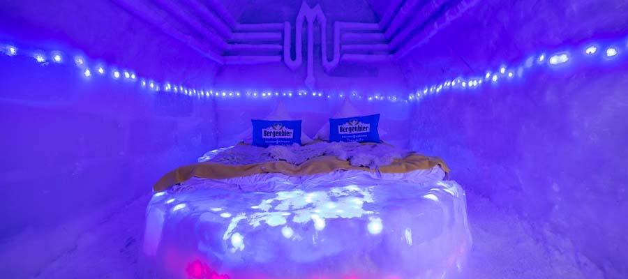 Buz Oteller - Balea Ice Hotel - Oda