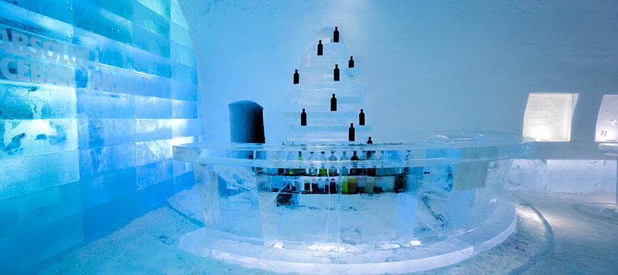 Buz Oteller - Jukkasjärvi Ice Hotel - Bar